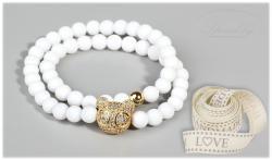Minerální náramky, náramky z polodrahokamů, šperky, handmade, minerál