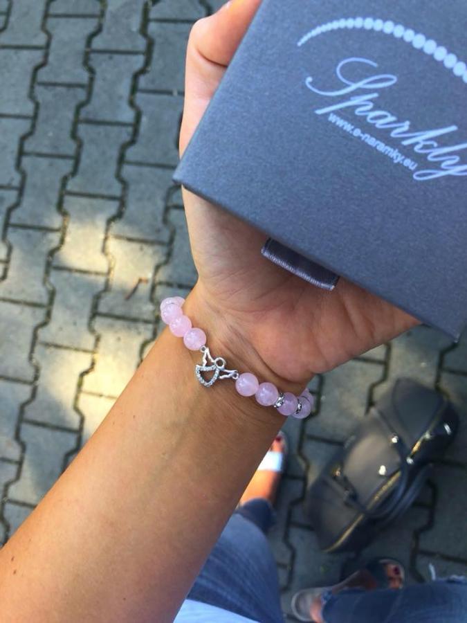 Minerální náramky, náramky z polodrahokamů, šperky, handmade, minerál, šperk, luxus, elegance, styl,