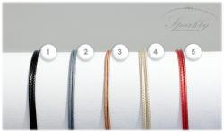 Barva hedvábné stužky